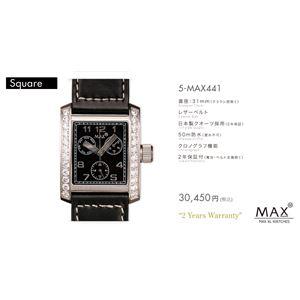 MAX XL WATCH 【マックス ウォッチ】 腕時計 5-MAX441 31mm FACE LINE - 拡大画像