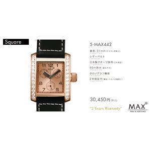 MAX XL WATCH 【マックス ウォッチ】 腕時計 5-MAX442 31mm FACE LINE - 拡大画像