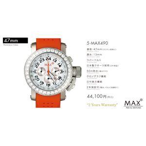 MAX XL WATCH 【マックス ウォッチ】 腕時計 5-MAX490 47mm FACE LINE