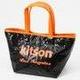 KITSON(キットソン) ミニスパンコール トートバッグ 3576 ネオン オレンジ - 縮小画像2