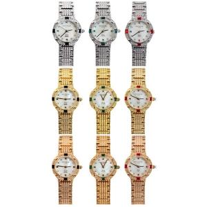 PENTHOUSE CLUB(ペントハウスクラブ)天然石付き 腕時計 PHL0001 Silver×Black (05)【送料無料】