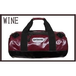 OUTDOOR(アウトドア) 12449358 ワイン 11 ネオシャイニング PU ボストンショルダーバッグ