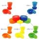 UGUP ウガップ 折り畳み式 UGUP(ウガップ)携帯用うがいコップ 全5色セット - 縮小画像4