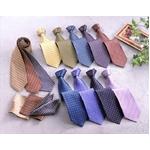 イタリア人コーディネーターが選ぶ 最新流行ネクタイ12本 チーフ3枚組 10160 シルク100% ネクタイ セット