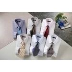 銀座・丸の内のOL100人が選んだ ワイシャツ6枚&ネクタイ8本セット品