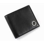 GUCCI(グッチ) 二つ折り財布 212170 BECON 1000 カーフ(ブラック)【送料無料】