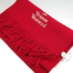 Vivienne Westwood(ヴィヴィアンウエストウッド) マフラー RED s12-f552multi04