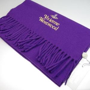 Vivienne Westwood(ヴィヴィアンウエストウッド) マフラー PURPLE s13-f552combi09