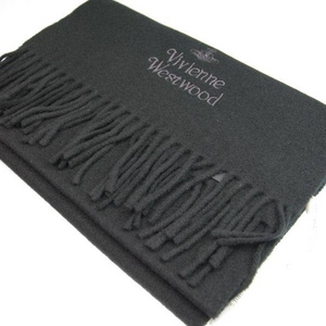 Vivienne Westwood(ヴィヴィアンウエストウッド) s11-f552-12 マフラー BLACK