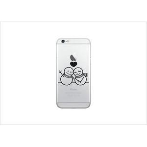 Luminoso ルミノソ LED スマホフラッシュケース For iPhone6/6S snowman h01