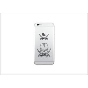Luminoso ルミノソ LED スマホフラッシュケース For iPhone6/6S skull h01