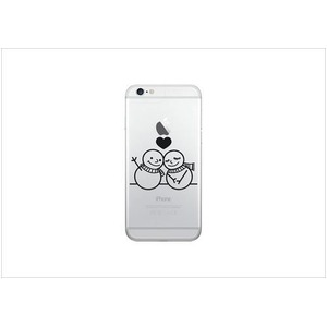 Luminoso ルミノソ LED スマホフラッシュケース For iPhone6/6S PLUS snowman