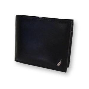 NAUTICA ノーティカ 6186-01 BK 2つ折り財布  h01