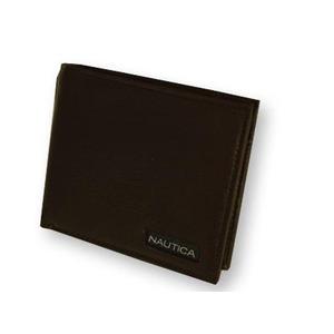 NAUTICA ノーティカ 6183-02 BR 2つ折り財布  h01