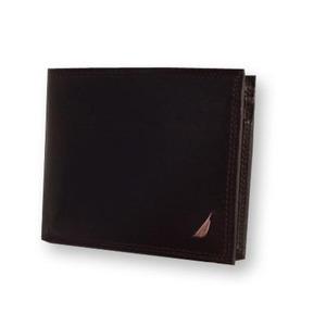 NAUTICA ノーティカ 6186-02 BR 2つ折り財布  h01