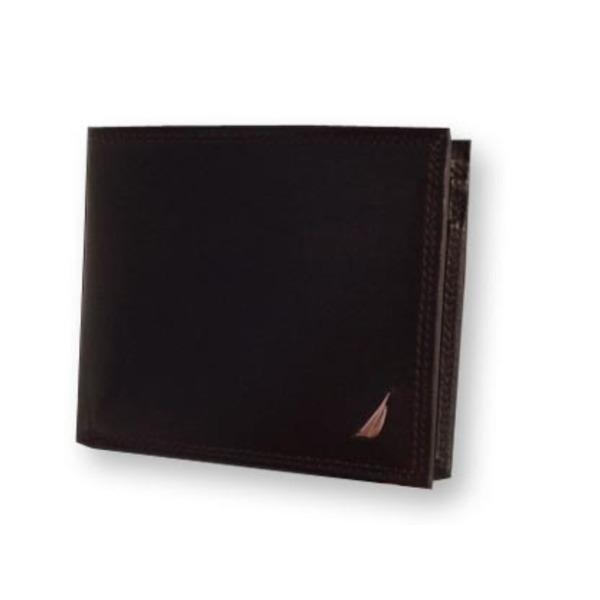 NAUTICA ノーティカ 6186-02 BR 2つ折り財布 f00