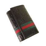 GUCCI(グッチ) 6連キーケース 138077-A0VBR-1060BK ブラック 【送料無料】