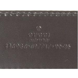 GUCCI(グッチ) メンズ ベルト 114984-AOVIN-1000 95cm