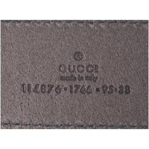 GUCCI(グッチ) メンズ ベルト 114876-A2P0N-1000 80cm