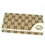Gucci(グッチ) 181593 FFPAG 9761 ダブルホック 長財布