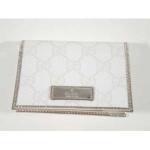 Gucci(グッチ) 190340 FCIIG 9069 カードケース/パスケース ホワイト/プラチナ