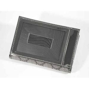 Gucci(グッチ) 190340 FCIIG 9775 カードケース/パスケース ベージュ/メタルカーキ