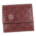 Gucci(グッチ) 190382 D4C1G 6206 Wホック財布【送料無料】
