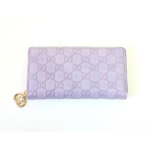 Gucci(グッチ) 212120 AA61G 5350 ジッピー 長財布 グッチシマ
