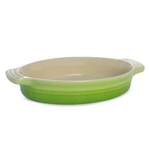 Le Creuset(ル・クルーゼ) 鍋(パン) ホーローディッシュオーバルディッシュ24cm GR