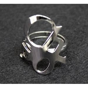 CHLOE(クロエ) 2R0056-AB1-090 CHLOEロゴモチーフリング  silver 52(11-12号)