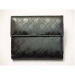 Gherardini(ゲラルディーニ) 33KBS08 0001 Wホック財布 ブラック【送料無料】