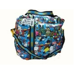 "LESPORTSAC(レスポートサック) Collection ""Artist in Residence Merjin Hos"" 3Day Weekender 87543827 BL【送料無料】"