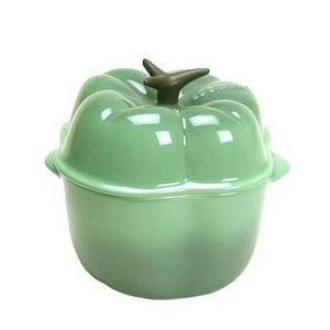 Le Creuset(ル・クルーゼ) 鍋(パン) ミニベジタブルミニ・ピーマン 910094-0057 GR