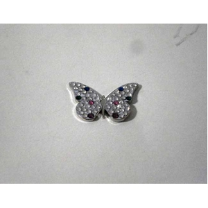 bonjoc (ボンジョック) スワロフスキー マーカー バタフライ (蝶) の写真1