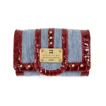 clear crea(クリアクレア) FOLDED WALLET(財布) CGOS-065-91-11 L.BLUE