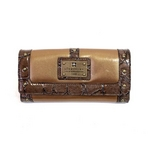 clear crea(クリアクレア) FOLDED WALLET(財布) CGOS-065-91-16 CAMEL