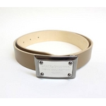 Dolce&Gabbana(ドルチェ&ガッバーナ) BC2530 A6321 80004 ロゴプレートバックル レザーベルト 90cm【送料無料】