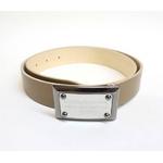 Dolce&Gabbana(ドルチェ&ガッバーナ) BC2530 A6321 80004 ロゴプレートバックル レザーベルト