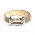 Dolce&Gabbana(ドルチェ&ガッバーナ) BC2546 A6321 80004 ロゴプレートバックル レザーベルト