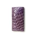 クロコダイル革 6連キーケース CROCODILE 1516 purple【送料無料】