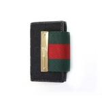 GUCCI(グッチ) 181673-F4FOG-1060 6連キーケース ブラック【送料無料】