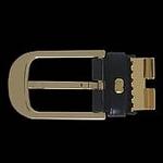 Dunhill(ダンヒル) レザーベルト BE-DUN-A0018HPF117ABKxBR/Gold【送料無料】