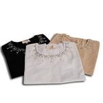 Falchi New York(ファルチ ニューヨーク) FAAI06T-25 ファッション Tシャツ  ベージュ M【送料無料】
