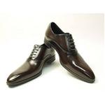 Falchi New York(ファルチ ニューヨーク) FN-007 BR 紳士靴 ビジネスシューズ ブラウン 24.5【送料無料】