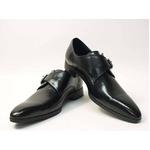 Falchi New York(ファルチ ニューヨーク) FN-008 BK 紳士靴 ビジネスシューズ ブラック ブラック 26.5