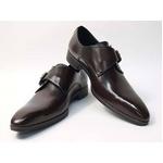 Falchi New York(ファルチ ニューヨーク) FN-008 BR 紳士靴 ビジネスシューズ ブラウン  ブラウン 25.5【送料無料】