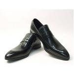 Falchi New York(ファルチ ニューヨーク) FN-009 BK 紳士靴 ビジネスシューズ ブラック  ブラック 24.5【送料無料】