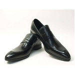 Falchi New York(ファルチ ニューヨーク) FN-009 BK 紳士靴 ビジネスシューズ ブラック ブラック 26