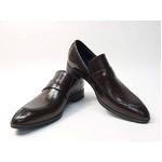 Falchi New York(ファルチ ニューヨーク) FN-009 BR 紳士靴 ビジネスシューズ ブラウン ブラウン 26