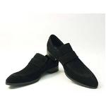 Falchi New York(ファルチ ニューヨーク) FN-009 SWBK 紳士靴 ビジネスシューズ ブラック スウェードブラック 26